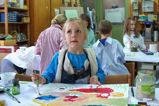 Kleine Künstler Kinder-Biennale