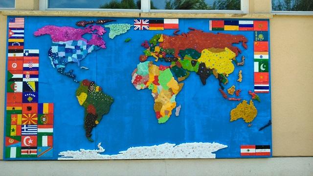 Viele Nationen - eine Erde