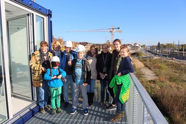 Die Kinder-Biennale unterwegs zu spannenden Orten beim 1. Kinderarchitekturfestival